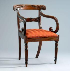 Armchair in Regency style