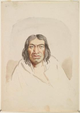 """Loch-o-let, Nisqually Chief,"" Nisqually (Southern Coast Salish)"