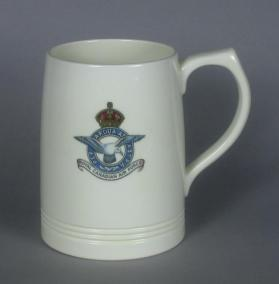 Tankard, commemorative of the Royal Canadian Air Force