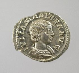 Denarius of Julia Mamaea, mother of Severus Alexander
