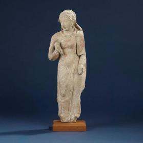 Figure of a young woman