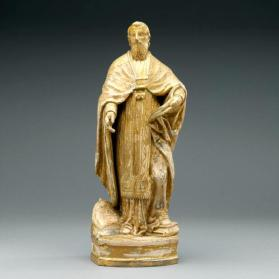 Sculpture: A doctor of the Latin Church