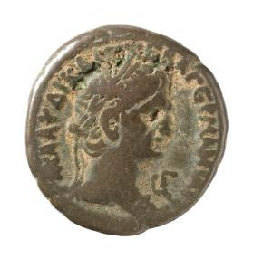 Tetradrachm with laureate head of Claudius
