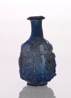 "Blue ""Sidonian"" flask"