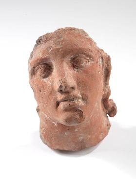Fragmentary Head of a Man from an architectural relief