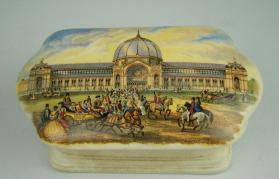 "Pot cover, "" Alexandra Palace"""