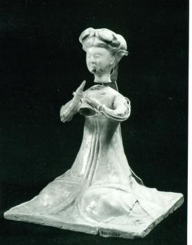 Reproduction burial figure (fragment)