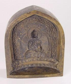 Mould for Buddha calling the Earth to witness