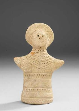 Figure of female with headdress