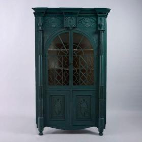 Corner cupboard in Neoclassical Style