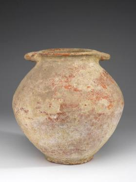Jar containing cremation burial