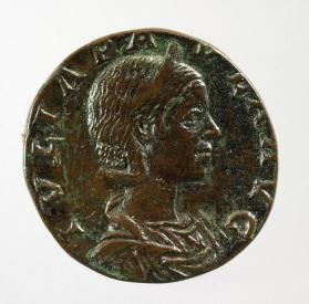 Sestertius of Julia Paula, first wife of Elagabalus