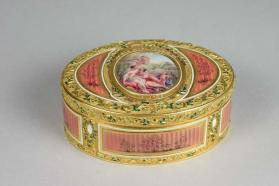 Snuff Box depicting Venus and Adonis