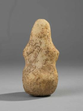 Figure of seated female figure