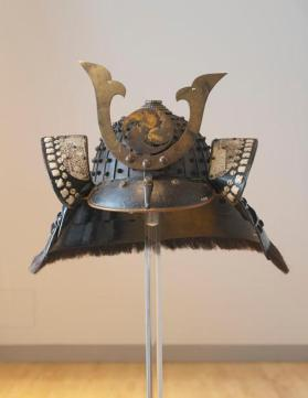 Kuwagata Kabuto (helmet with horns) with star crest