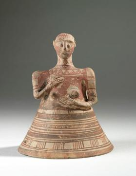 Bell-shaped female figure