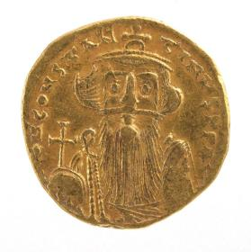 Solidus coin of Constans II