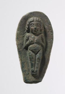 Jewellery former (mould) with image of Astarte