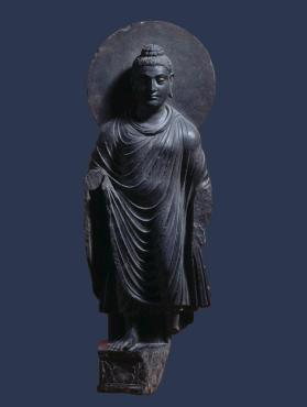 Figure of standing Buddha