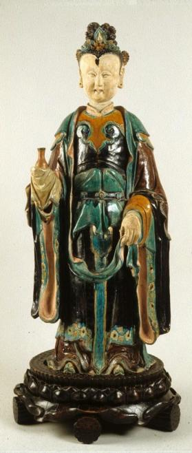 Figure of a Daoist female deity