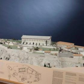 1:200 model of the Acropolis