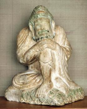Figure of Buddha as a recluse