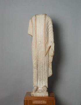 Fragmentary figure of male votary