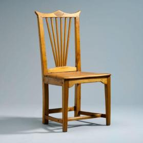 Side chair with Chippendale influence