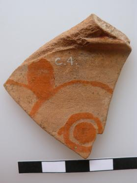 Fragment from the neck of an East Greek amphora or oinochoe, decorated with a large cable pattern