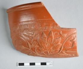 Fragment from a Samian ware bowl