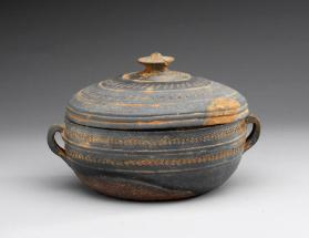 Bowl and cover 뚜껑바리