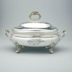 Tureen presented to Captain Robert Heriot Barclay (1786-1837)