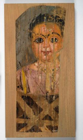 Mummy portrait of a child