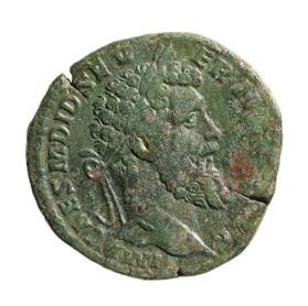 Sestertius with laureate bust of Didius Julianus