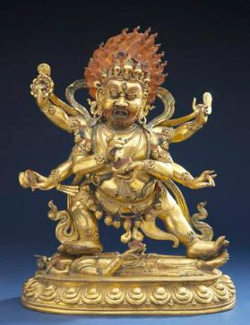 Figure of Mahakala