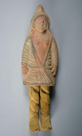 Figure of male with Phrygian cap