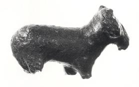 Fragmentary figure of a ram