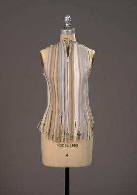 Zipper vest from the Artisanal Collection, Fall/Winter 2005