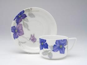 "Cup and Saucer, ""Donatello ""shape"
