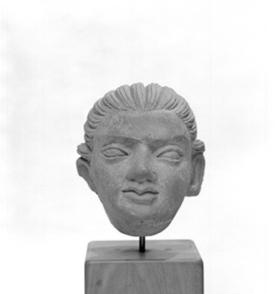 Figural head of a child