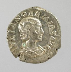 Denarius of Julia Soaemias, mother of Elagabalus