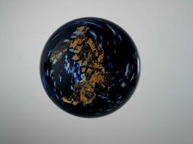 Galaxy paperweight