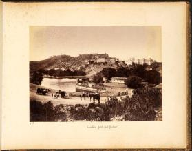 Amber fort and palace, from photograph album of Views of India