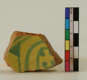 """Salad"" ware vessel fragment (body sherd)"