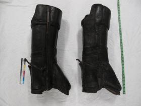 Pair of man's postilion boots
