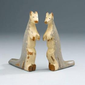 Noah's ark figure: pair of kangaroos