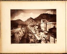 Street view Ulwar, from photograph album of Views of India