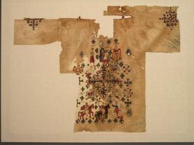 Child's baptismal shirt fragment