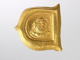 Belt ornament with Odysseus wearing a pilos (cap)