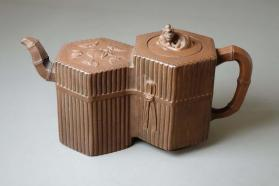 Double teapot and cover